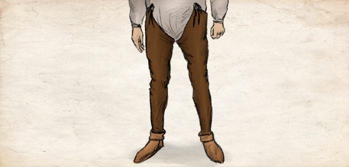 Beinlinge - Hosen des Mittelalters